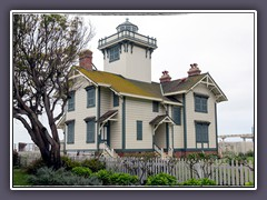 Point Fermin Lighthouse - San Pedro Bay - Los Angeles