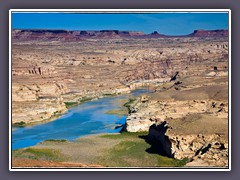 Colorado River im Glen Canyon Recreation Area