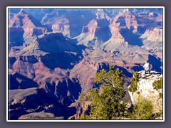 Grand Canyon - Aussichtsplatz