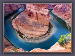 Horseshoe Bend - Colorado River Schleife