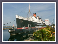 Queen Mary  - Hotelschiff in Long Beach